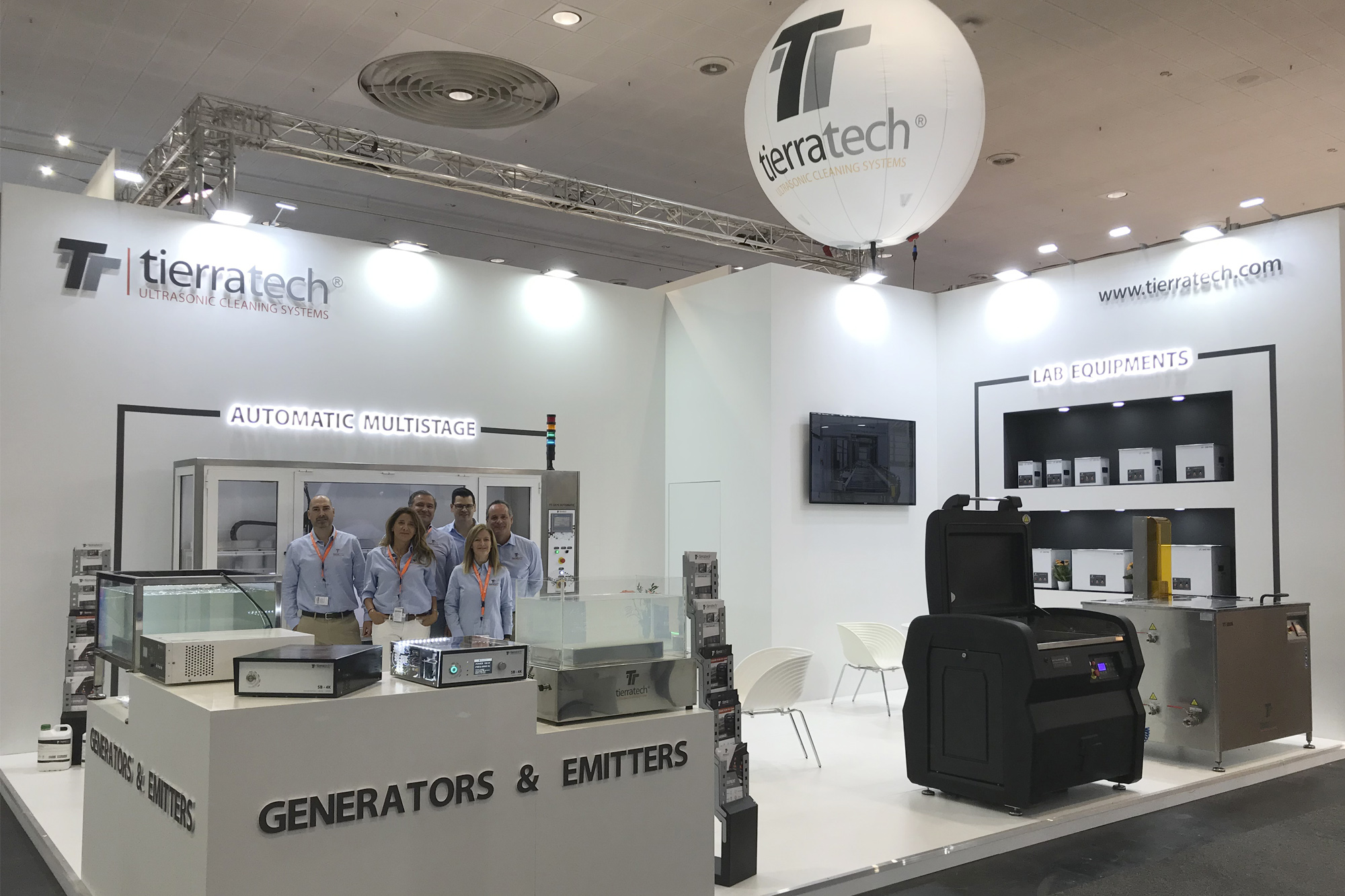 Tierratech took part in EMO Hannover 2019
